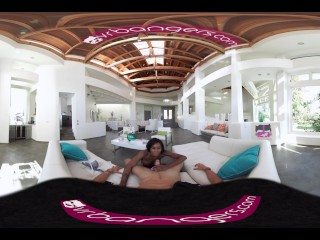 VR Bangers – [360° VR] Sexy Black Perfect Ass Maid Fucked and Cream-pied