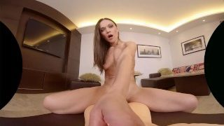 SexBabesVR – 180 VR Porn – Alyssa Reece in Living-Room